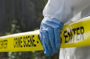 Forensic Scientist at the Scene