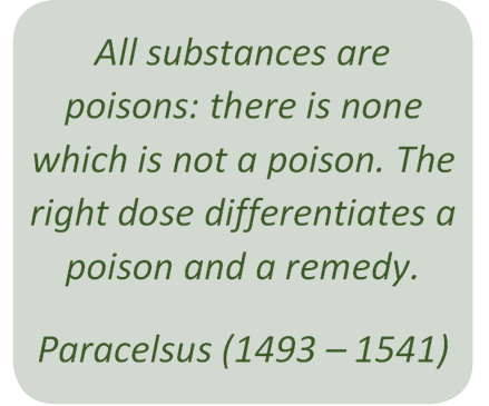 All substances are poisons