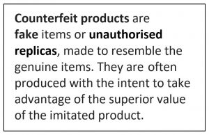 Image for counterfeit pdts